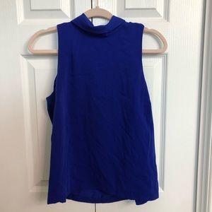 Cobalt blue forever 21 blouse size med sleeveless